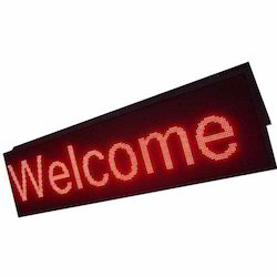 Red LED Display Board