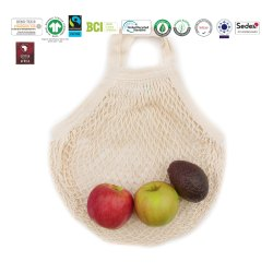 Grs Recycle Cotton String Bag