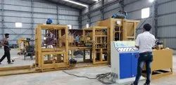 Fully Automatic Vibro Compact Blocks & Bricks Making Plant