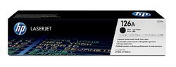 HP 126A Original LaserJet Toner Cartridge, Black