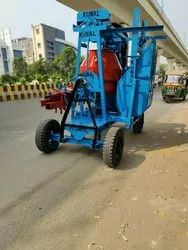 Two Pole Concrete Lift Mixer Machine