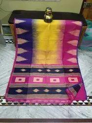 Handloom Temple Box Jamdani Sarees