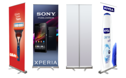 Pull Up Banner Standee
