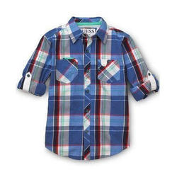 Cotton Kids Half Sleeve Shirt
