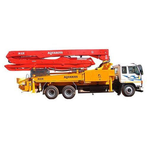 Truck Mounted Concrete Boom Pump