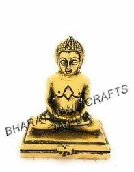 Gold Plated Mahaveer Idol