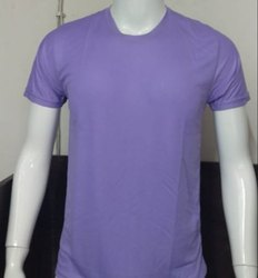 FFPL Round Neck Polyester T Shirt, Age Group: 18-60
