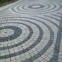 Circular Pattern Paving Blocks