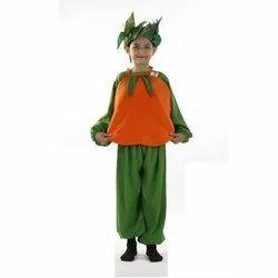 Green & Orange Unisex Orange Fancy Costume, for SCHOOLS