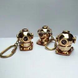 Nautical Helmet Key Rings