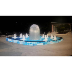 Granite Garden Ball Fountain