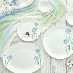 White Cello Opalware Dinner Set
