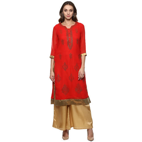 54307d38e84 M Ladies Party Wear Kurta