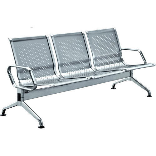 Stainless Steel Visitor Bench Chair