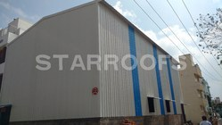 Indoor Badminton Roofing Shed