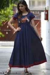 Ladies Half Sleeve Fancy Kurti