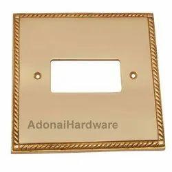 1 Decora Brass Georgian Switch Plate