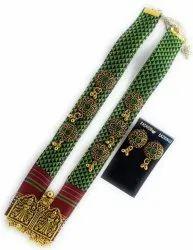 FJ023 Fabric Jewelry