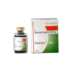 Rituximab 500mg Reditux Injection (rituximab (500mg Injection), As Directed By The Physician, 100mg&500mg