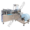 Non Woven Shoes Cover Making Machine, Capacity: 60-120pcs/min