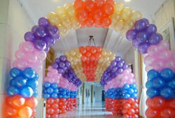 Birthday Balloon Decoration Services, Area / Size: Upto 500 Sq.Mtr
