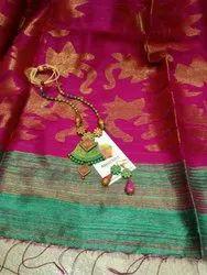 Jamdani Wedding Wear Pure Matka Silk Saree