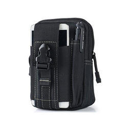 Black Back Pack with Cell Pouch