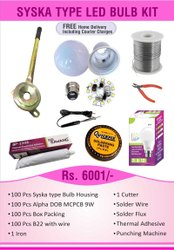 Syska Type LED Bulb Kit