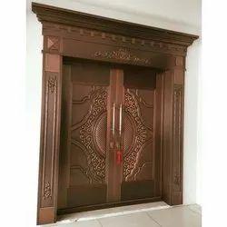 AC Solid Wood Designed Interior Wooden Door