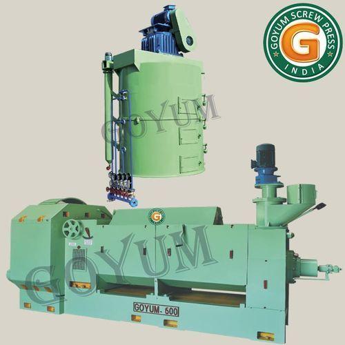 100 Hp Goyum 600 Oil Expeller, for Mustard Oil