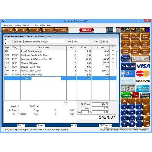 Retail Billing Software At Rs Unit Retail Billing Software - Retail invoice software
