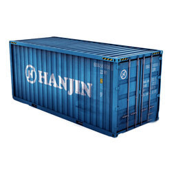 Cast Iron 20 Feet Used Shipping Storage Container