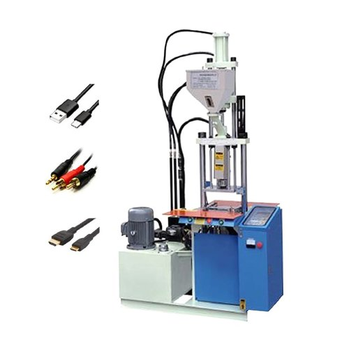 Usb Cable Vertical Injection Moulding Machine