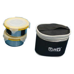 UnV Stainless Steel Lock And Lock Lunch Boxes