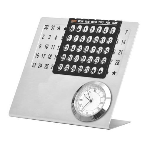 Perpetual Calendar with Clock