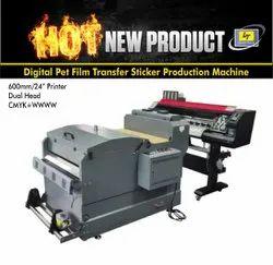 Inkjet Digital Pet Film Transfer Printer 600mm/24, Capacity: 10, Model/Type: TP600S