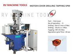 Motor Cover Drilling Tapping SPM