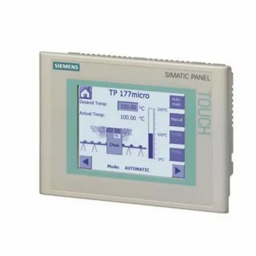 Human Machine Interface - Siemens TP177 Human Machine