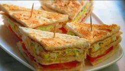 Veg Club Sandwich