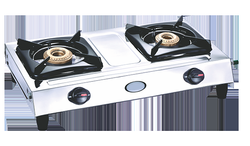 Surya 2 Burner Stainless Steel Gas Stove