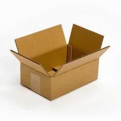 Rectangle Brown 3 Ply Corrugated Cardboard Box