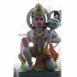 Colored Hanuman Statue
