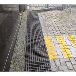 Iron/Ductile Iron Full Floor (Rectangular) Drain Grating Cover