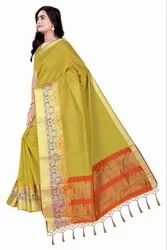 Chettinad Cotton Silk Saree