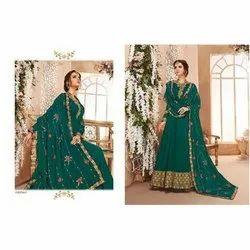 Party Wear Chiffon Designer Anarkali Suit