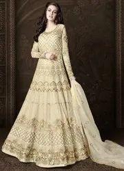 Ivory Designer Lehenga Pant Kameez