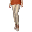 Sassy Curves Light Gold Shimmer Leggings