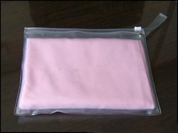 Transparent Plastic Zip Lock Bag, Size: 7 - 40 Inch, Thickness : 40 - 100 micron