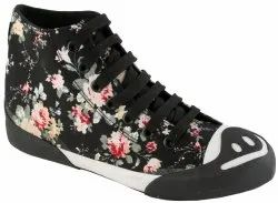 Ladies High Cut Casual Shoes