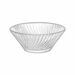 Vertex Round Leher Dessert Glass Bowl, Set Contains: 6 Piece, Size: 250 Ml